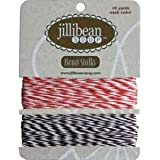 Jillibean Soup Red/Brown Bean Stalks Twine