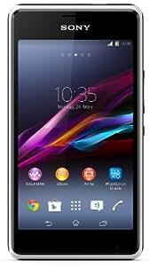 "Smartphone Sony Xperia E1 4 Go (10.2 cm (4 "") écran 3 MPix appareil photo blanc)"