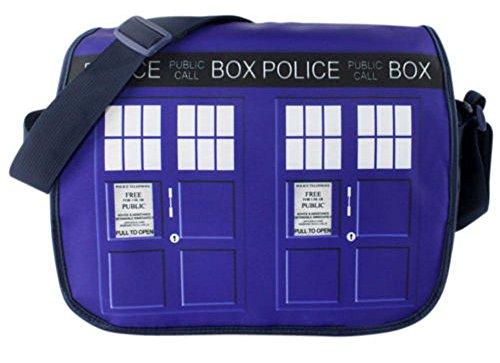 Generic Doctor Who Tardis Police Box shoulder bag Satchel Bag Schoolbag New