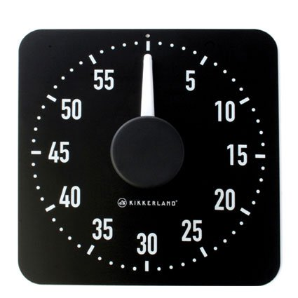 Kikkerland XL Magnetic Rotary Kitchen Timer кружка kikkerland ниндзя в засаде