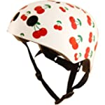 Kiddimoto Kids Cherry Helmet - Multic...