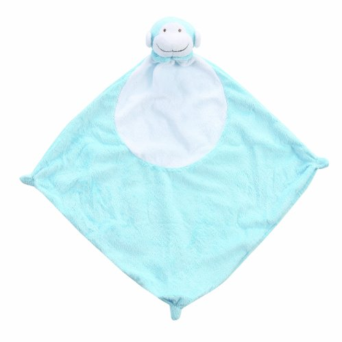 Angel Dear Blankie, Bright Blue Monkey