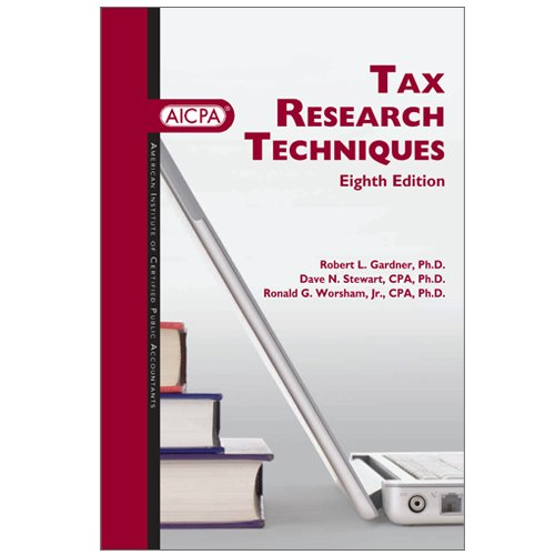 Tax Research Techniques, Eighth Edition