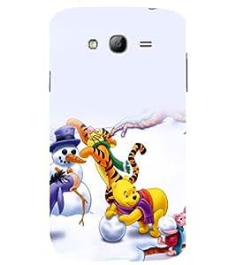 printtech Winie The Pooh Cartoon Back Case Cover for Samsung Galaxy Grand i9080 / Samsung Galaxy Grand i9082