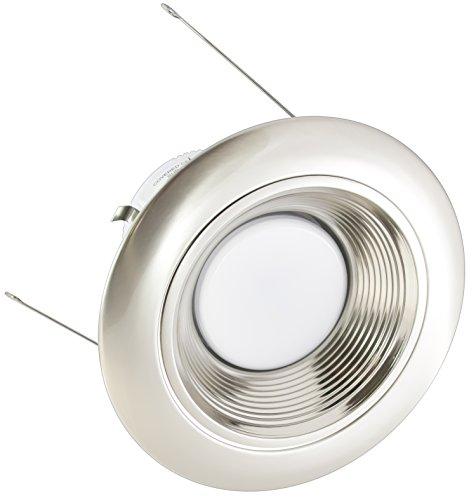 American Lighting X5-Alb-Al-X56 5-Inch Downlight Trim Kit For X56 Series, Satin Aluminum Baffle, Satin Aluminum Trim
