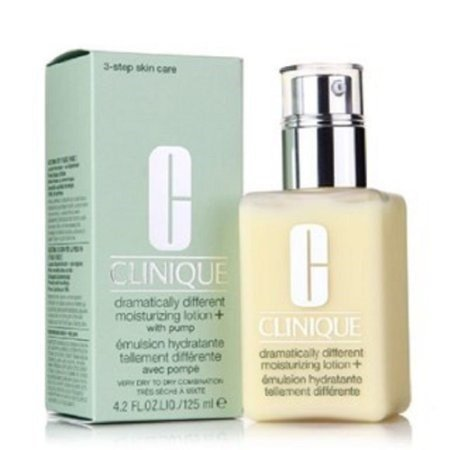 Clinique drammaticamente Different Moisturizing Lotion con pompa per molto secco a secco di combinazione pelle 125 ml