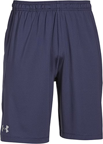 Under Armour, Pantaloni corti Uomo Raid, Blu (Midnight Navy), M