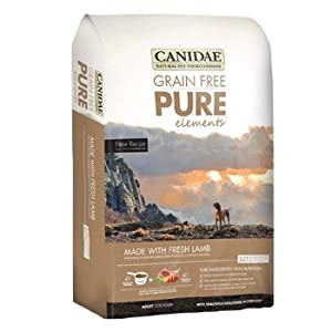 CANIDAE Grain Free Pure Elements with Fresh Lamb for Dogs