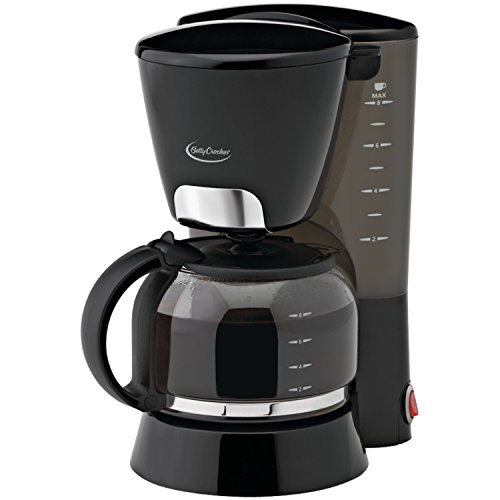 Betty Crocker BC-1723CB 8-Cup Coffee Maker, Black (Coffee Maker 8 Cup compare prices)