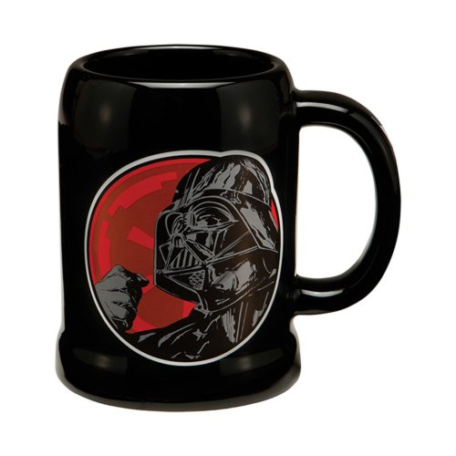 Vandor LLC 99279 Star Wars Darth Vader 20-Ounce Ceramic Stein, Multicolored