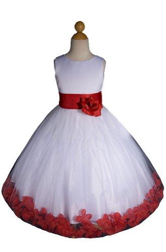 Toddler Girl Dresses For Weddings 32 Lovely New White red Flower