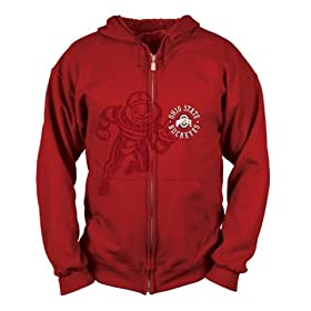 Ohio State Buckeyes Hoodie Sweatshirt Jacket