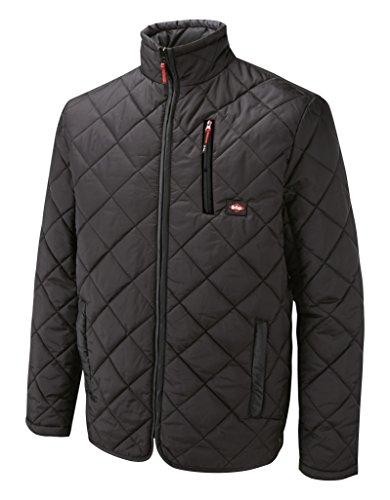 Lee Cooper Workwear, Giacca imbottita da lavoro Uomo, LCJKT436, colore: Nero, taglia XL