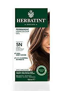 Herbatint 5N Light Chestnut Permanent Herbal Hair Colour Gel 135ml