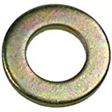 PLAIN WASHERS FORM A (ZINC & YELLOW) 5mm (PACK OF 100)