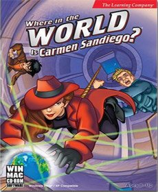 Where In The World Is Carmen Sandiego from Encore