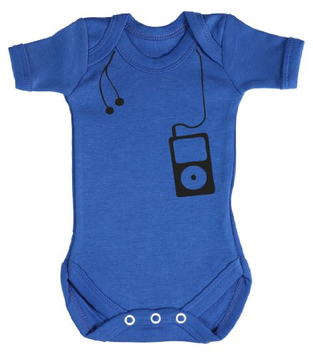 Baby Buddha - Music Player Funny Baby Grow 0-3M Blue front-970546