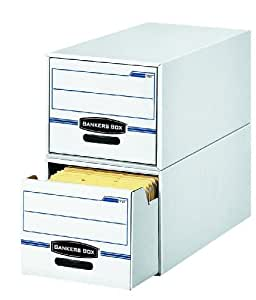 Bankers Box Stor/Drawer Storage Drawers, Legal, 6 Pack (00722)