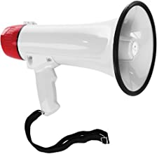 Polsen MP-15 15W Megaphone with Siren and Detachable Microphone