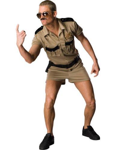 Adult-Costume Reno 911 Lt Dangle Std Halloween Costume - Most Adults