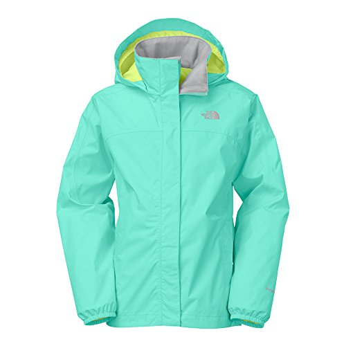 The North Face Resolve Reflective Jacket Girl'S Mint Blue L
