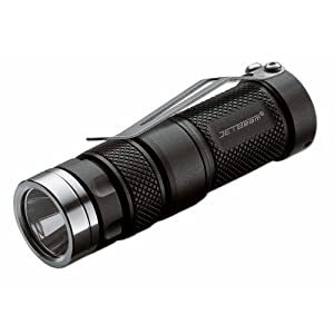JETBeam RRT01 XM-L Raptor Series Cree LED Flashlight, Grey
