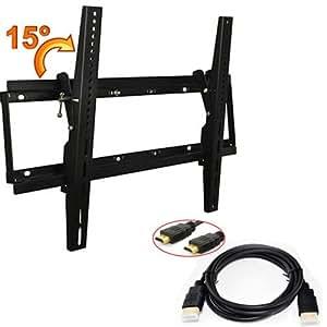 Atc flat pannel led lcd 15 adjustable angle - Angled wall tv mount ...