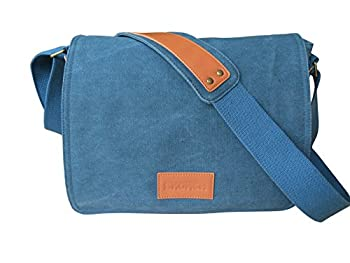 SKORCH Original Canvas Messenger Bags and Shoulder Bags for Men and Women - Ideal for Work, College, School and Commuting