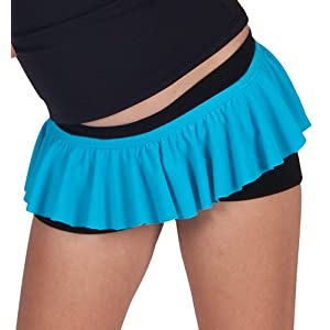 Child Ruffle Mini Skirt - 3838