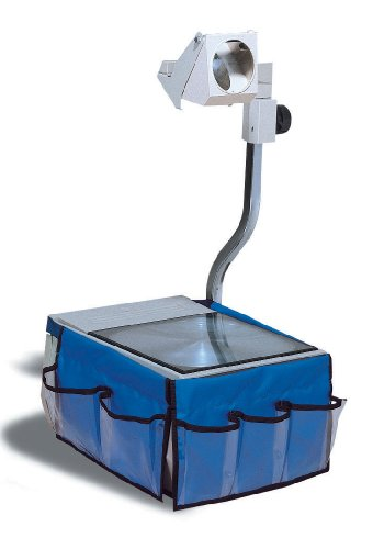 Creative Learner Overhead Projector Caddy, 12 X 7.5 Inches, Blue, 6 Pockets (0020700)