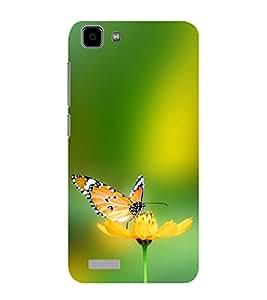 ifasho Designer Phone Back Case Cover Vivo Y27 :: VivoY27L ( Fresh Coffee Logo )