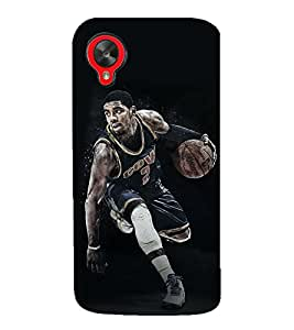 99Sublimation NBA Player and Basket Ball 3D Hard Polycarbonate Back Case Cover for LG Nexus 5 :: LG Google