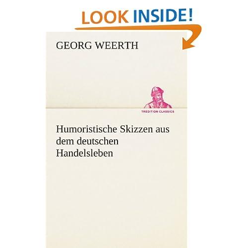 Humoristische Skizzen aus dem deutschen Handelsleben (German Edition)