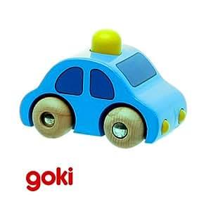 v hicule jouet b b enfant voiture en bois avec klaxon 1. Black Bedroom Furniture Sets. Home Design Ideas