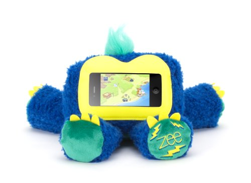 Griffin Blue Woogie Zee Plush Kid Case for iPhone and iPod touch - Half case, half teddy bear, all fun.