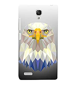 3D Vector Owl 3D Hard Polycarbonate Designer Back Case Cover for Xiaomi Redmi Note Prime :: Xiaomi Redmi Note 4G Prime