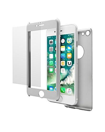Unotec Cover 2 tlg. Set Pack Full Protect iPhone 7 Plus grau