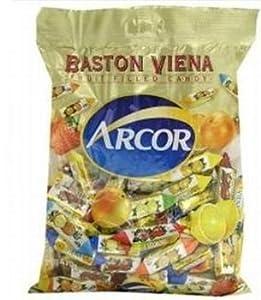 Arcor Vienna Fruit Filled Kosher Candy 2 Packs