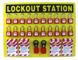 NMC LOS20 29 Piece Equipped Lockout Center Board with Contents