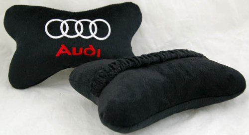 audi-car-seat-neck-rest-pillow-cushion-2pcs-black