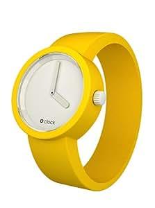 Fullspot Oclock Unisex-Armbanduhr Analog Plastik weiss OCW21-L