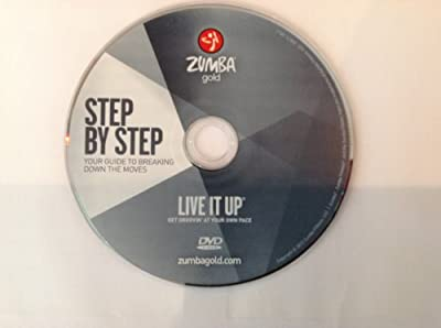 Zumba Fitness Gold Step by Step DVD from the Gold LIVE IT UP DVD set
