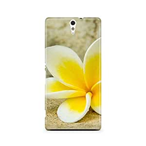 Motivatebox - Sony Xperia C5 Back Cover - Yellow Lily Polycarbonate 3D Hard case protective back cover. Premium Quality designer Printed 3D Matte finish hard case back cover.