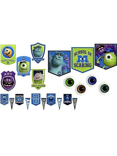 Hallmark BB20104 Monsters Inc. Room Transformation Kit (Monsters Inc Birthday Decorations compare prices)