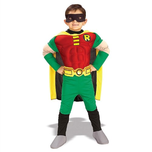 Deluxe Muscle Chest Robin Toddler Costume