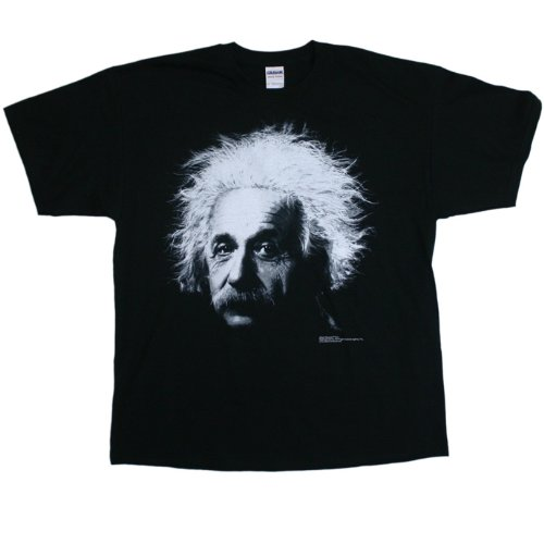 Albert Einstein - Big Photo T-Shirt