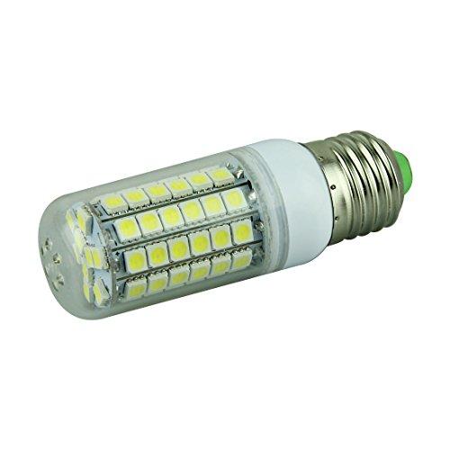 Voberry E27 8W 69 Smd 5050 Led Light Bulb Lamp W/Cover Ac 220- 240V (Coolwhite)