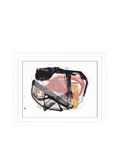 Jaime Derringer Conceptualize Artwork on Framed Paper