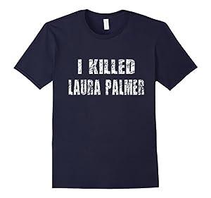 Men's I KILLED LAURA PALMER  2XL Navy
