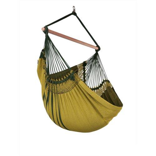 La Siesta Mares Kingsize hammock chair green